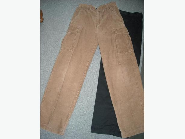 Two Pairs of Teen Boy's Pants- Size 12