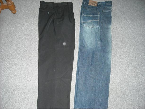 Two Pairs Of Teen Boy's Pants