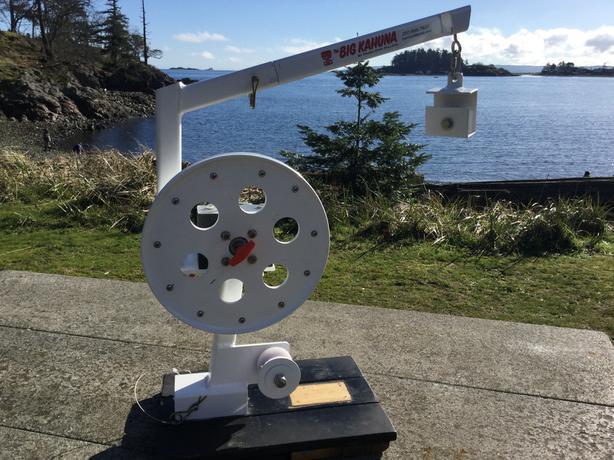 Gear Puller Toronto : Quot the big kahuna a prawn crab trap winch hauler pot puller