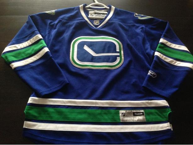 Officially Licensed Reebok Vancouver Canucks Jersey