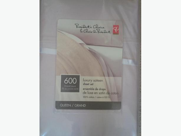 600 Thread Count Sateen Sheets New Queen Sized