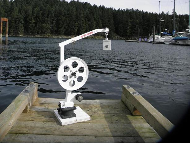 Gear Puller Toronto : Quot the big kahuna a prawn crab trap pot puller winch hauler