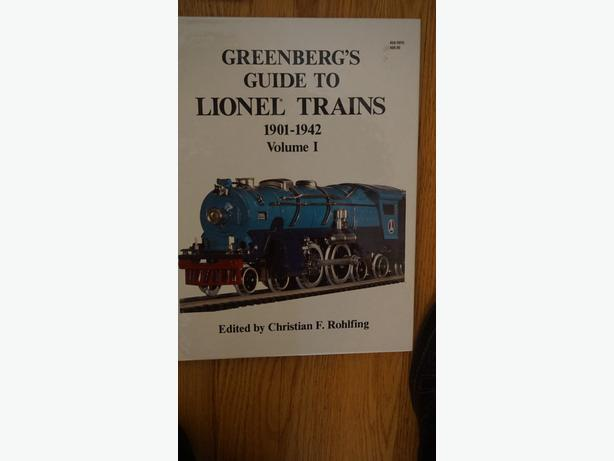 4u2c GREENBERGS GUIDE TO LIONEL TRAINS 1901-1942 VOLUME 1