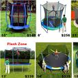 Trampoline & Enclosure Sale 8',11',12',13',14',15',17'Oval