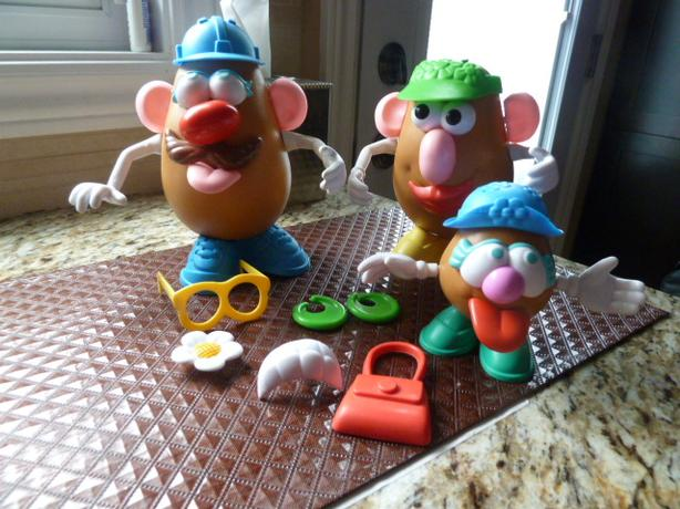 Mr. Potato Head Family