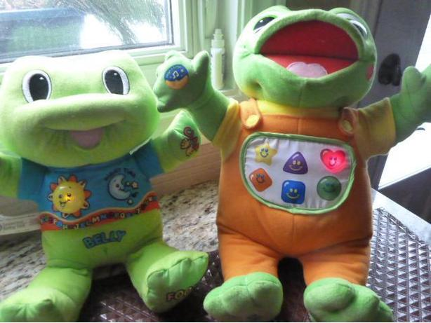 3 Leapfrog learning Baby Tad