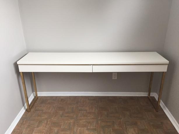 Ikea Besta Burs Desk Saskatoon Saskatoon
