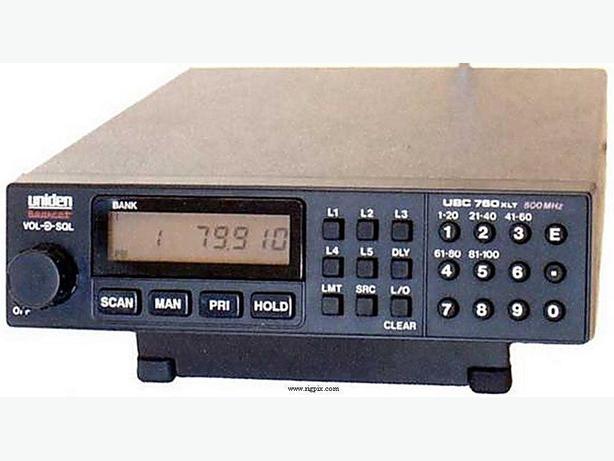 Uniden Bearcat 760XLT Scanner