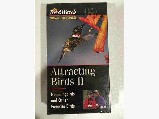 Attracting Birds VHS Tape