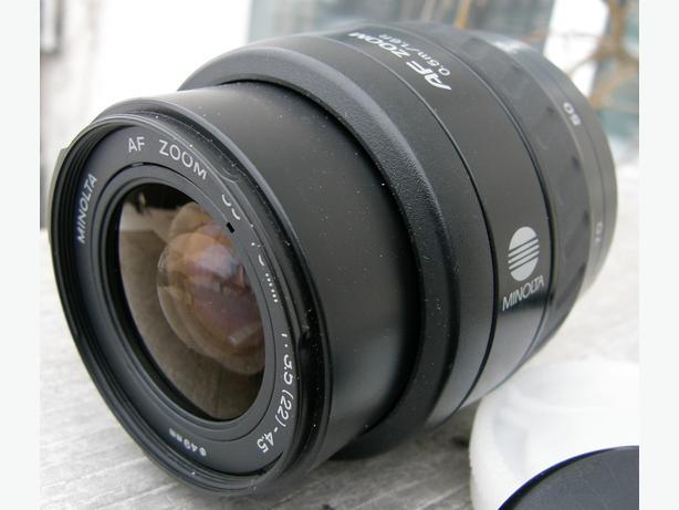 Minolta AF 35-70mm f3.5 - 4.5 Wide Zoom Lens VGC