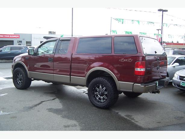 2004 ford f150 x cab 4x4 lariat outside comox valley. Black Bedroom Furniture Sets. Home Design Ideas