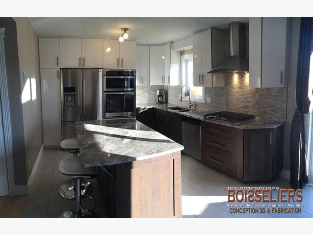 Kitchen cabinets vanities and commercial millwork aylmer for Kitchen cabinets ottawa
