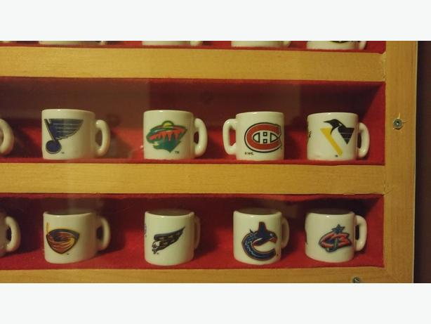 Ceramic NHL mugs