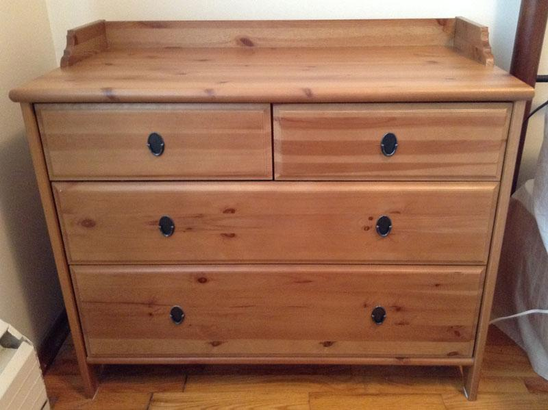 Beautiful IKEA Leksvik dresser & matching shelf Victoria City, Victoria YC36