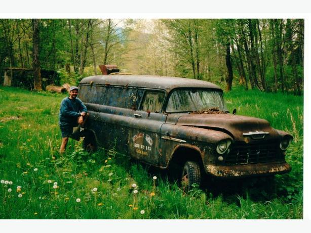 WANTED: Any 1955 Chevy Panels laying in the bush?