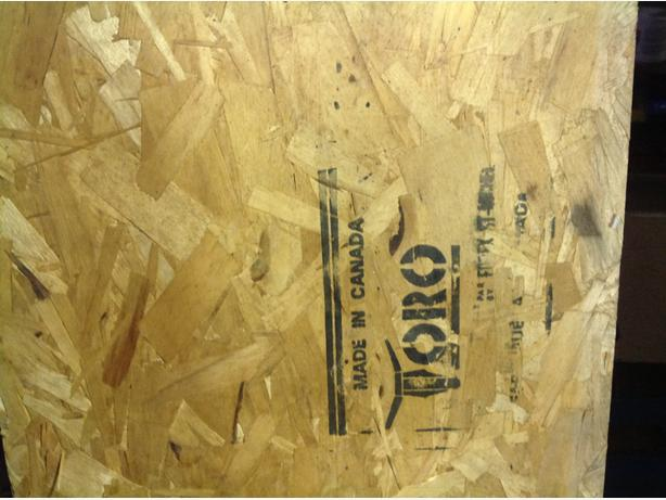OSB Rim Joist 12 ft long 14 inches wide 11/4 inches thick