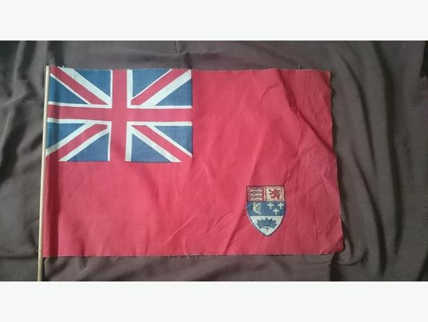 1921-1957 Canadian flag