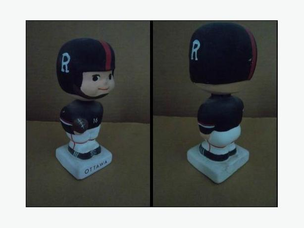 1960's Ottawa Rough Riders doll
