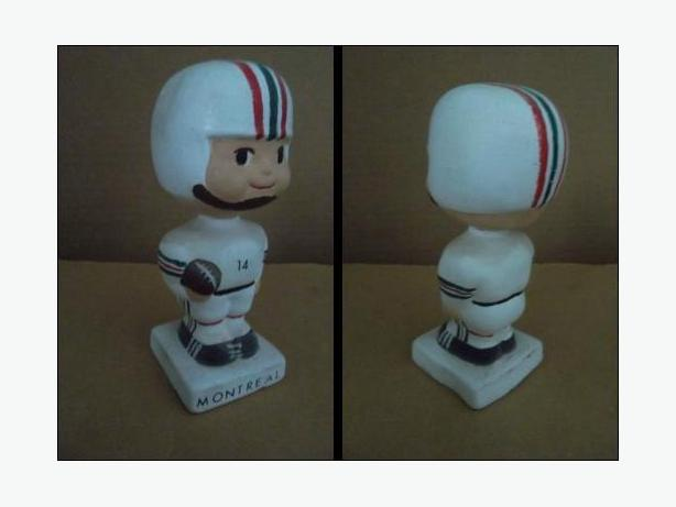 1960's Montreal Alouettes doll