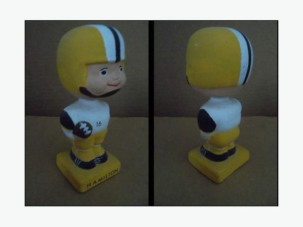 1960's Hamilton Tiger-Cats doll