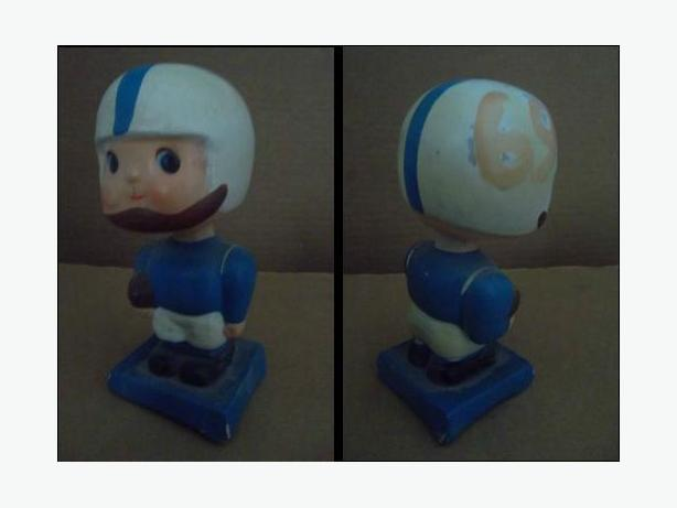 1960's Toronto Argonauts bobblehead doll