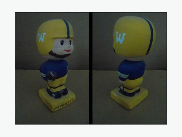1960's Winnipeg Blue Bombers doll