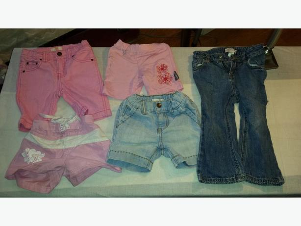 Girls clothes size 1