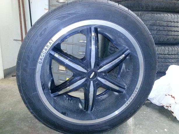 22 Baccarat Rims with Nitto tires…MINT!!!