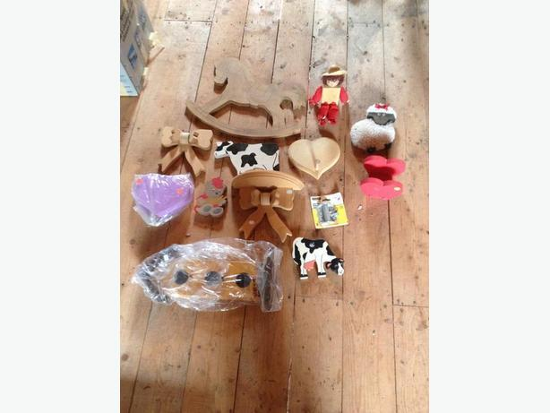 selection  of  wood  crafts