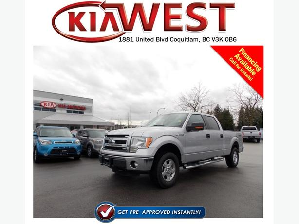 2014 Ford F150 Crew Cab 4x4 Flex Fuel