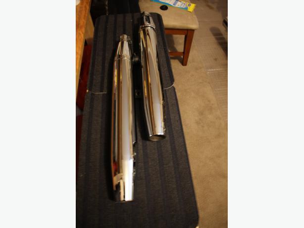 Mufflers for Yamaha V-SATR 1100CC