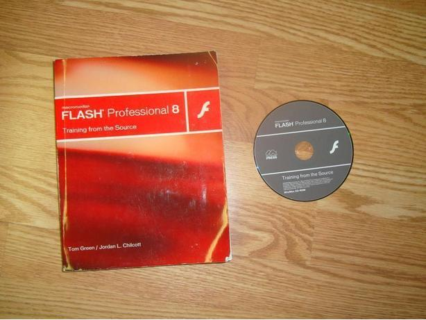 Like New Flash Professional 8 Book & CD Software - $10