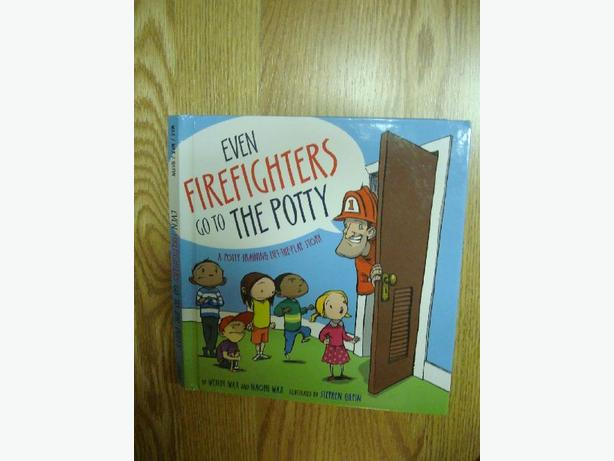 Like New Even Firefighters Go Potty Book - $5