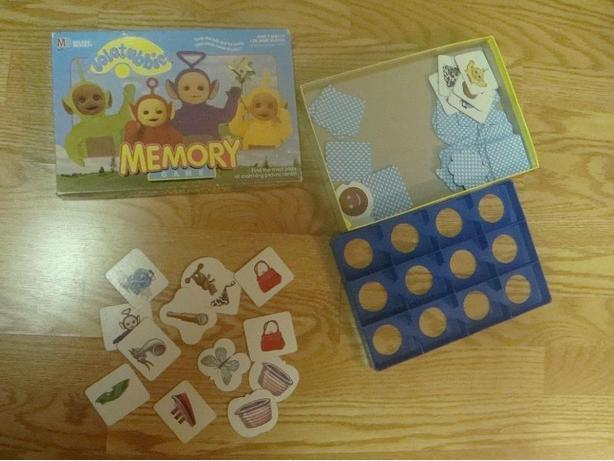 Like New Teletubbies Memory Game - $5