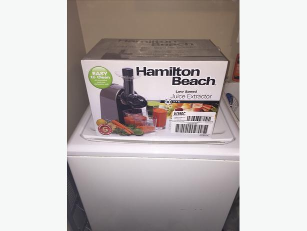 Hamilton Beach slow Juicer