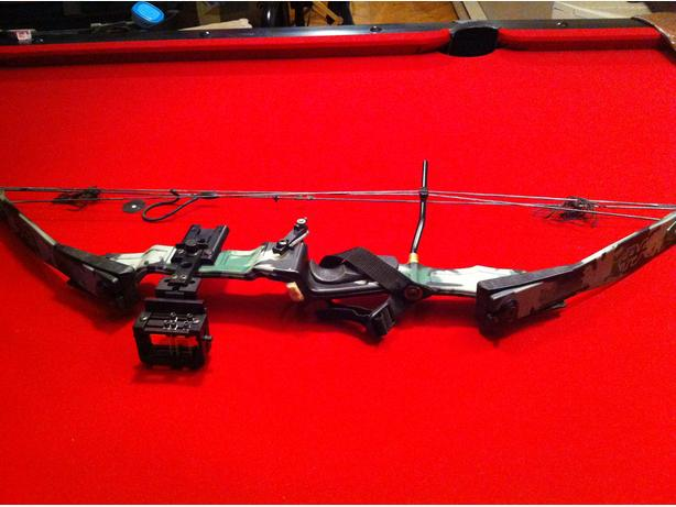 PSE left hand compound bow