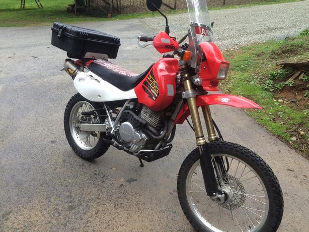 2007 Honda Xr650l Adventure Bike Low Kms Malahat Including