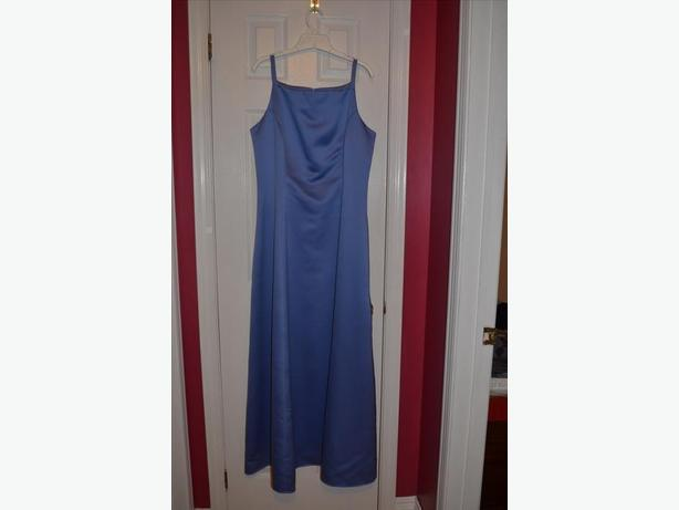 Size 13 Blue Evening Gown
