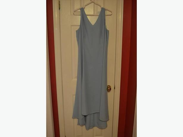 Light blue formal dress, size 14