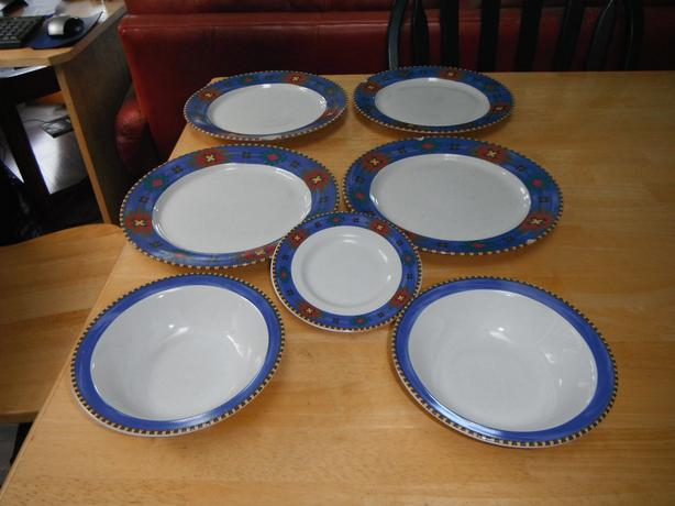 Taos Rivera Van Beers by Signature dish set