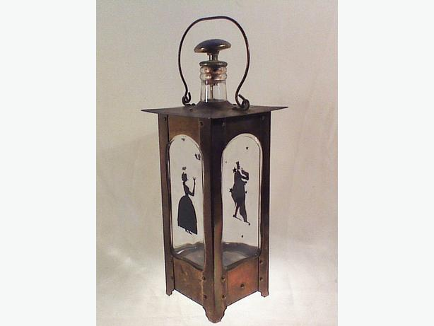 Music box lantern decanter