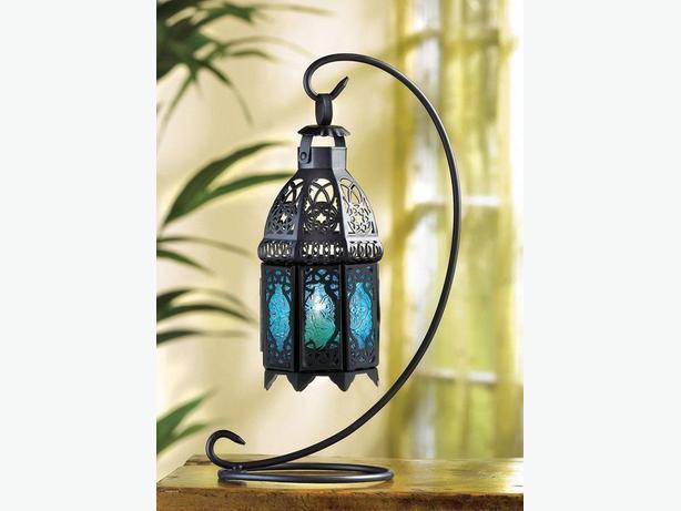 Lattice Candleholder Lanterns & Stands 3 Colors Choice Mix&Match