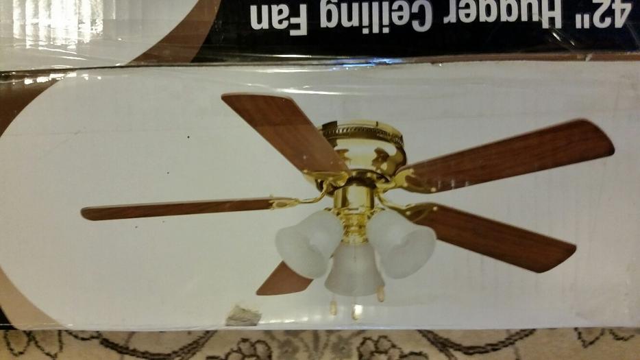 Likewise Hugger Ceiling Fan 42 In For Sale Courtenay