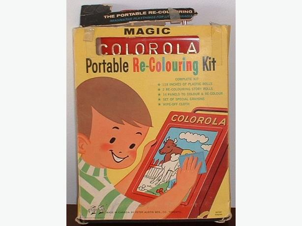 Colorola 1960's Toy