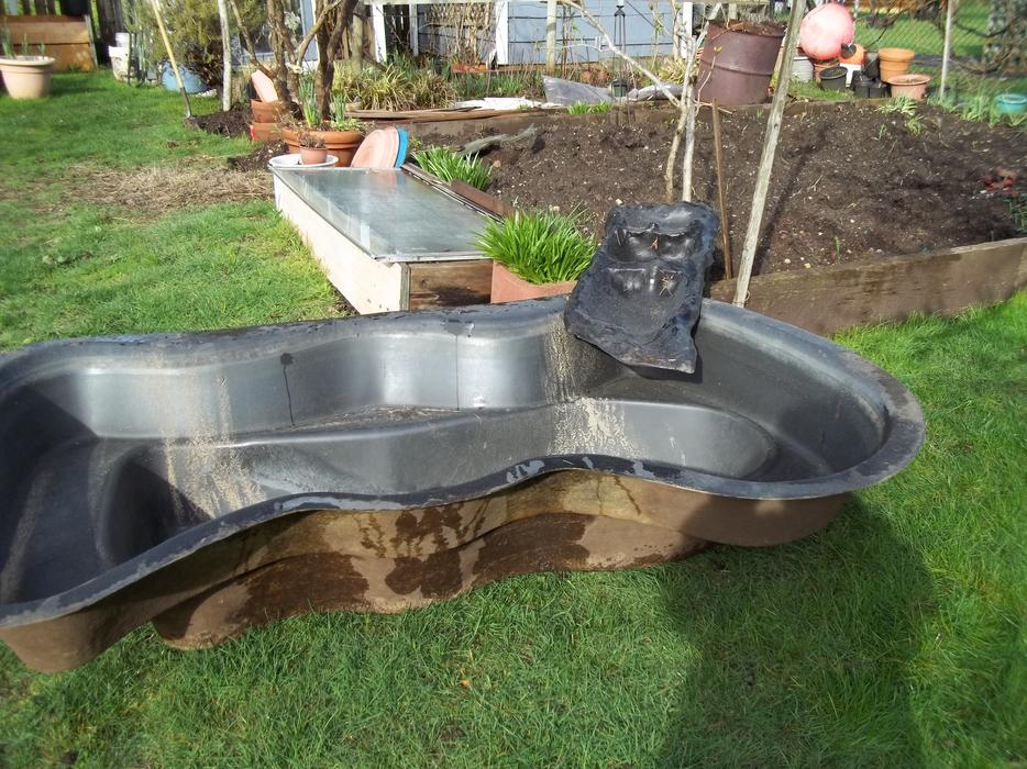 Preformed Fiberglass Pond Liner With Waterway Parksville Nanaimo