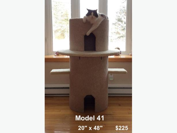 Brand new cat castle for sale.