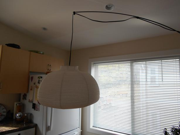 Ikea regolit arc floor lamp west shore langford colwood metchosin highlands victoria - Arched floor lamp ikea ...