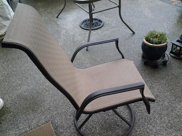 Swivel Rocker Patio Chairs Cumberland Campbell River Mobile
