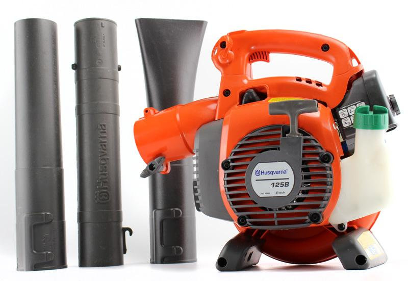 New Husqvarna 125b Handheld Blower With Gutter Cleaning