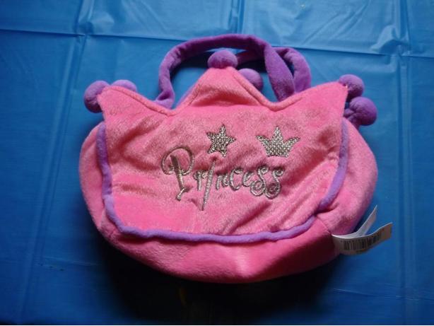 Princess plush bag